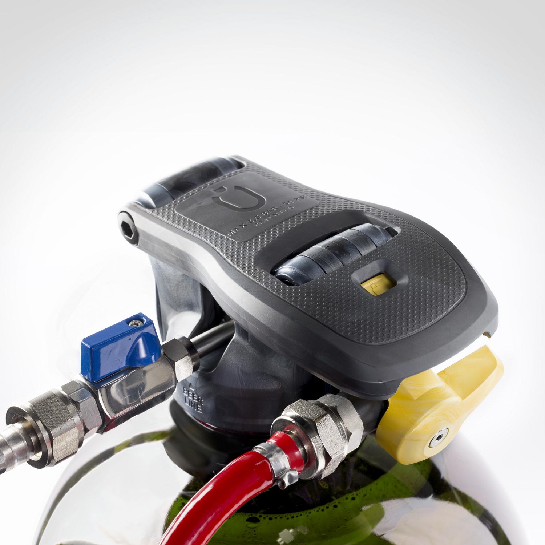 Puredraught keg coupler